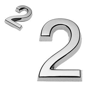 2, 3D Ziffer 24mm