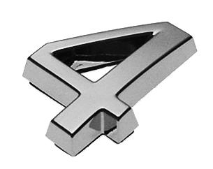 4, 3D Ziffer 24mm
