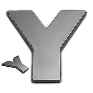 Y, 3D Chrombuchstabe 50mm