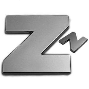 Z, 3D Chrombuchstabe 50mm