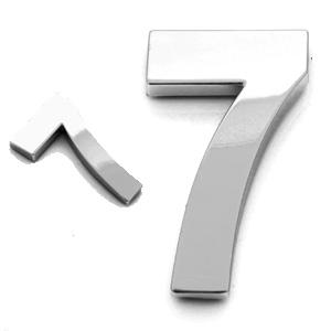 7, 3D Ziffer 55mm