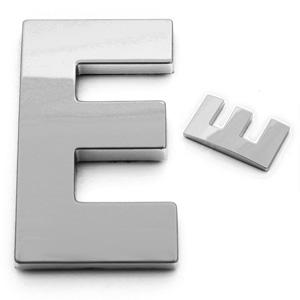 E, 3D Buchstabe 55mm