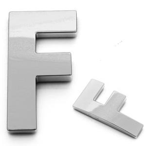 F, 3D Buchstabe 55mm