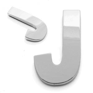 J, 3D Buchstabe 55mm