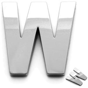 W, 3D Buchstabe 55mm