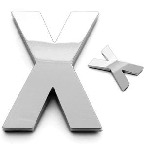 X, 3D Buchstabe 55mm