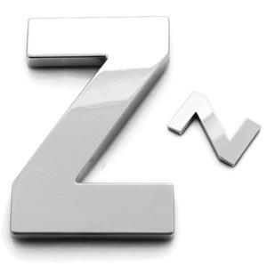 Z, 3D Buchstabe 55mm