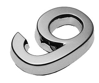 9, 3D Ziffer 24mm
