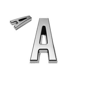 A, 3D Buchstabe 20mm
