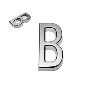B, 3D Buchstabe 20mm