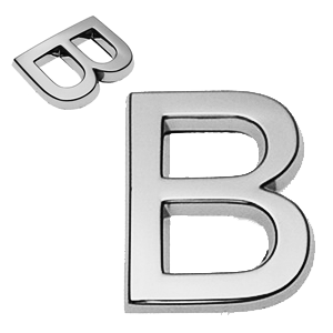 B, 3D Buchstabe 30mm