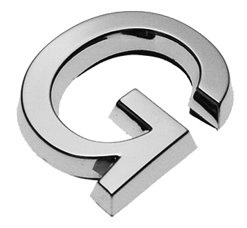 G, 3D Buchstabe 30mm