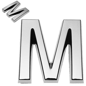 M, 3D Buchstabe 30mm