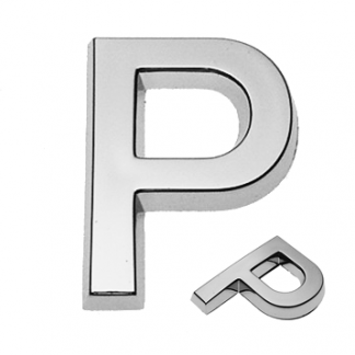 P, 3D Buchstabe 30mm