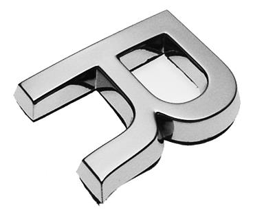 R, 3D Buchstabe 30mm