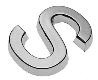 S, 3D Buchstabe 30mm