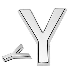 Y, 3D Buchstabe 30mm