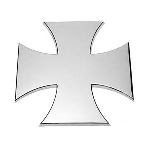 Eisernes Kreuz, Tatzenkreuz , 3D Chrom Emblem
