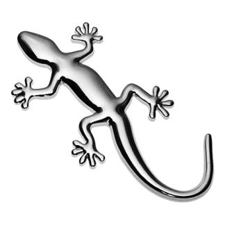 Gecko, 3D Chrom Emblem