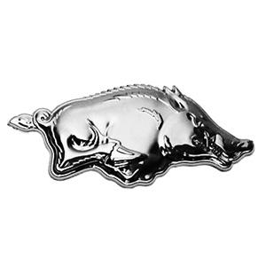 Wildschwein klein, 3D Chrom Emblem