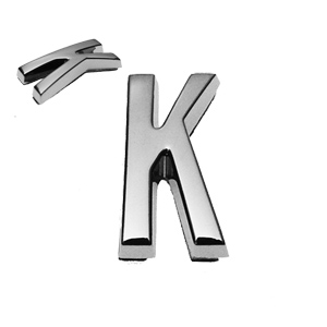 K, 3D Buchstabe 20mm