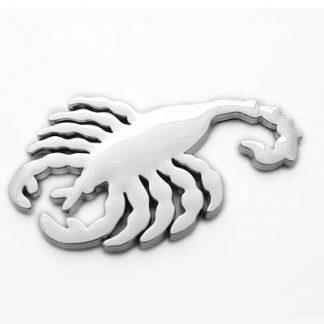 Skorpion, 3D Chrom Emblem