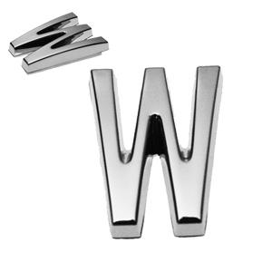 W, 3D Buchstabe 20mm